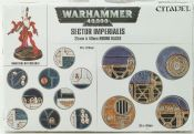 Warhammer 6692 Sector Imperialis 25 & 40mm Round Bases